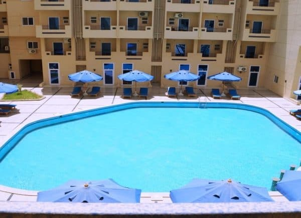 Hurghada Rental Apartments - Tiba Resort Apartment E4 - www.apartmentsinhurghada.com