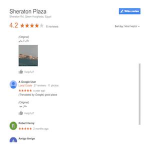 Google Reviews - Hurghada Rental Apartments - www.apartmentsinhurghada.com