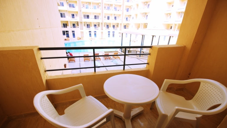 Hurghada Rental Apartments - Tiba Resort Apartment E4 - www.apartmentsinhurghada.com