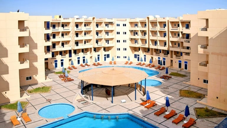 Rental Apartments in Hurghada - Tiba Resort - www.apartmentsinhurghada.com