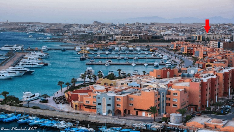 apartmentsinhurghada.com - Sheraton Plaza Hurghada -Rental Apartments - Located very close to New Marina