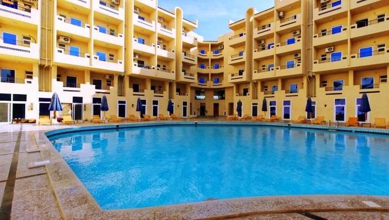Vacation Rentals in Hurghada - Tiba Resort Unit P4 - www.apartmentsinhurghada.com