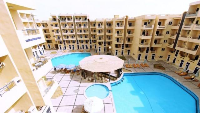 Tiba Resort C34 - Holiday Rentals and Rental Apartments in Hurghada with Free WIFI - www.apartmentsinhurghada.com -