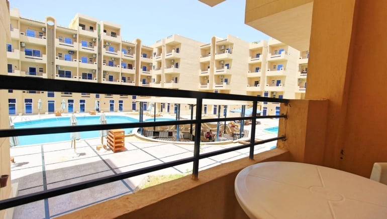 Tiba Resort E4 - Holiday Rental in Hurghada Close to El Gouna - Free WIFI - Book Online - www.apartmentsinhurghada.com