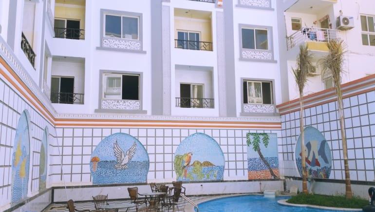 We Have Holiday Rentals and Rental Apartments in Hurghada at Sheraton Plaza Hurghada - Free WIFI - www.apartmentsinhurghada.com