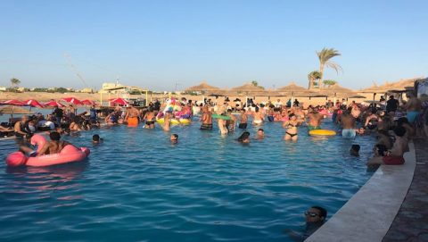 Rental Apartments in Hurghada and Pool Parties at Sliders Cable Park in El Gouna