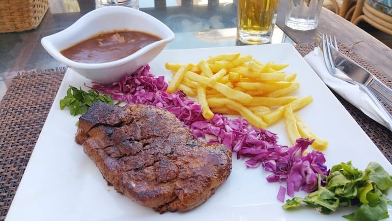 Camel Steak Close to Sheraton Plaza in Hurghada - Holiday Rentals at Sheraton Road - www.apartmentsinhurghada.com