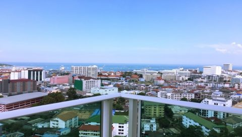 Sea View Holiday Rental at City Garden Tower in central Pattaya