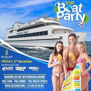 VIP Boat Party in Hurghada - Holiday Rentals in Hurghada - www.apartmentsinhurghada.com