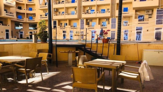 Tiba Resort Cafe - Holiday Rentals in Hurghada - www.apartmentsinhurghada.com