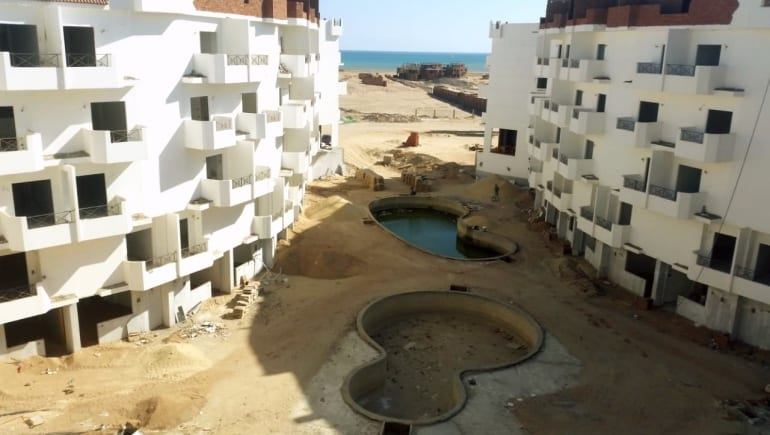 Tiba View December 2018 Update - Fully Furnished Holiday Rental With Sea View - Book Online - www.apartmentsinhurghada.com