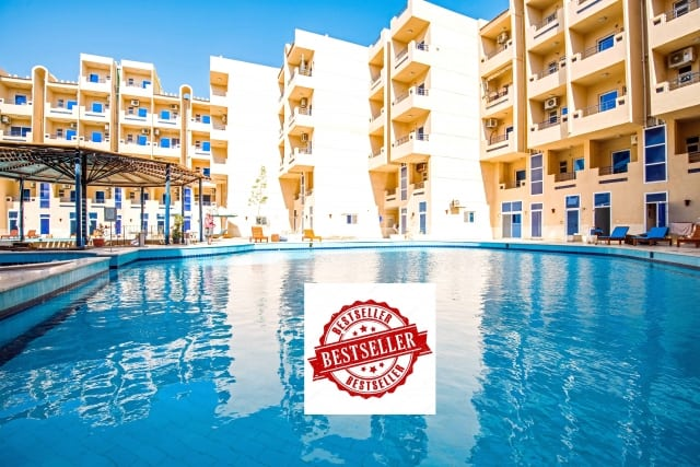 Tiba Resort - Bestseller Holiday Rentals in Hurghada - Book Online - www.apartmentsinhurghada.com
