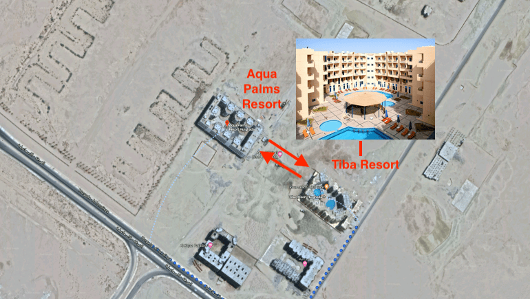 New Facilities Nearby Tiba Resort in Hurghada - Book Your Holiday Rental Online - www.apartmentsinhurghada.com