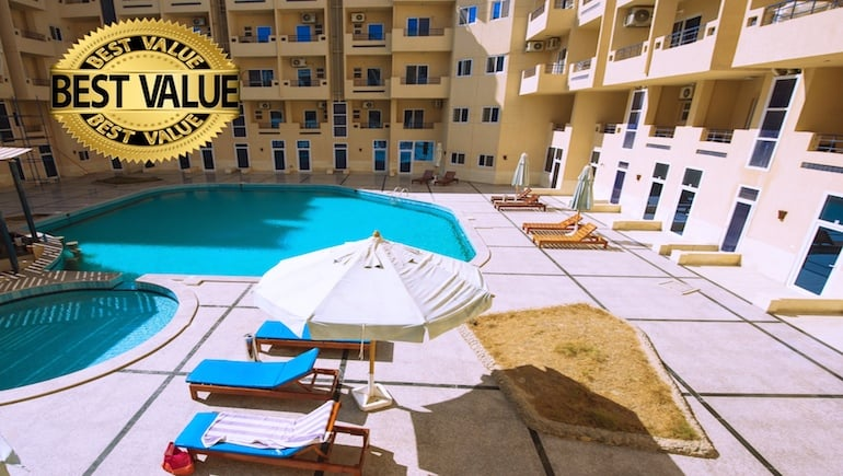 Holiday Rentals in Hurghada With Competitive Rental Rates at Tiba Resort, Tiba View and Sheraton Plaza - Book Online - www.apartmentsinhurghada.com