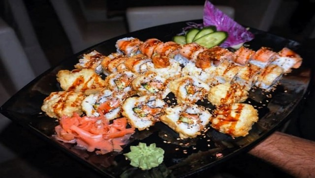 Sushi Theme Nights at Tiba Resort Cafe - Book Your Hurghada Holiday Rental Online - www.apartmentsinhurghada.com
