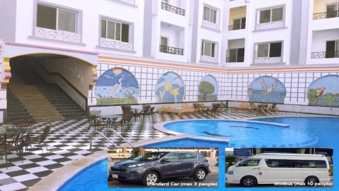 Holiday Rentals in Hurghada With Discounted Private Airport Transfers - All Bookable Online on www.apartmentsinhurghada.com