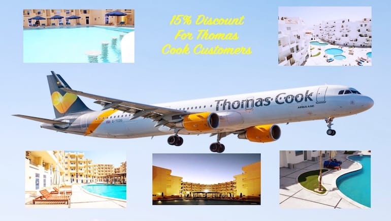 15% Discount For Thomas Cook Customers - Holiday Rentals in Hurghada - Book Online on www.apartmentsinhurghada.com