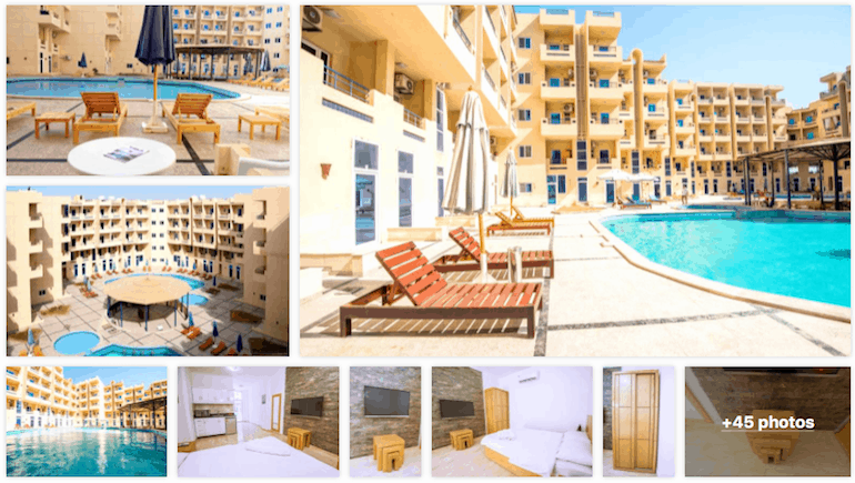 2019 Off Peak Deal on Booking.com - Book Our Holiday Rentals in Hurghada on www.apartmentsinhurghada.com or Booking.com