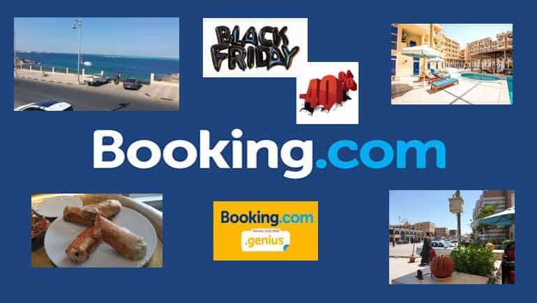 Book holiday rentals in Hurghada with Booking.com - Black Friday and Cyber Monday 2019 - Rental apartments in Hurghada - www.apartmentsinhurghada.com