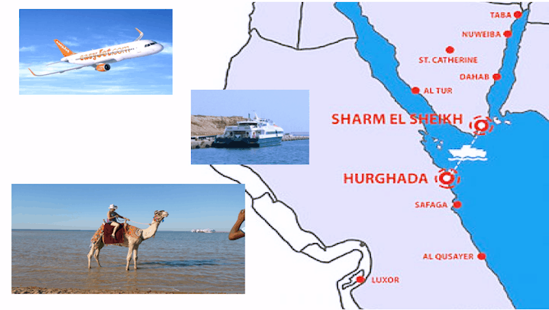New Hurghada Routes Added With EasyJet and Ferry Between Hugrhada and Sharm El-Sheikh Resumed - Holiday Rentals in Hurghada - www.apartmentsinhurghada.com - Book Online Today!