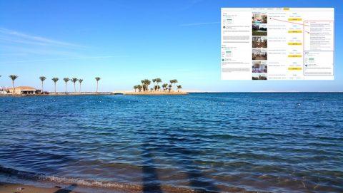 Our Hurghada Holiday Rental is on The TripAdvisor Top Ten List - Book Online on www.apartmentsinhurghada.com