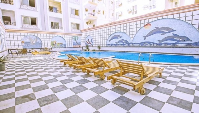 Fresh Vacation Rentals By The New Marina in Hurghada - Sheraton Plaza - Book Online on www.apartmentsinhurghada.com
