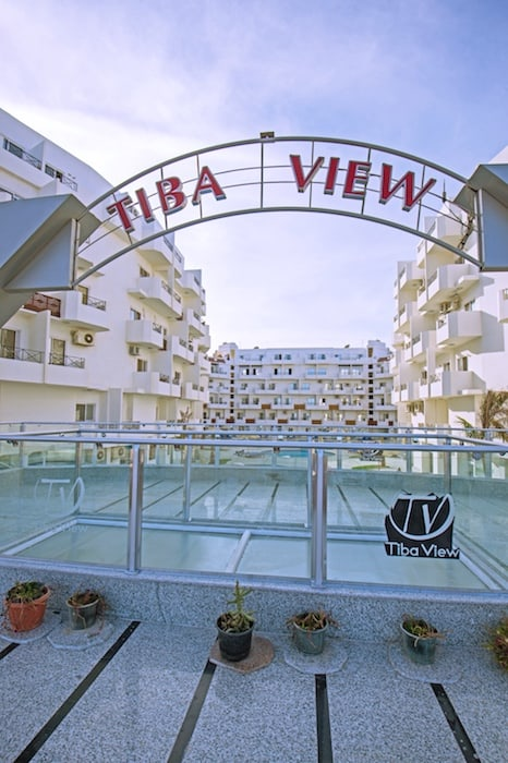 Panoramic Sea View Holiday Rental in Hurghada at Tiba View - Book Online on www.apartmentsinhurghada.com