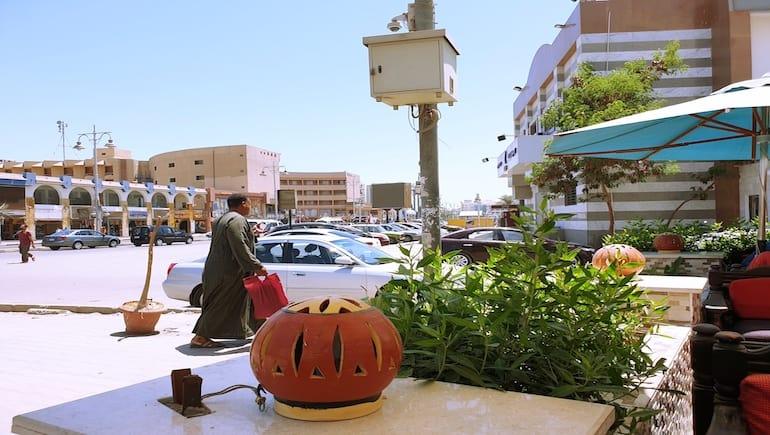 Sheraton Road in Hurghada