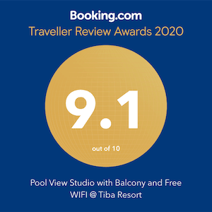 Book a Pool View Holiday Rental in Hurghada at Tiba Resort E4 - Award Winning Apartment on Booking.com - Book Online on www.apartmentsinhurghada.com