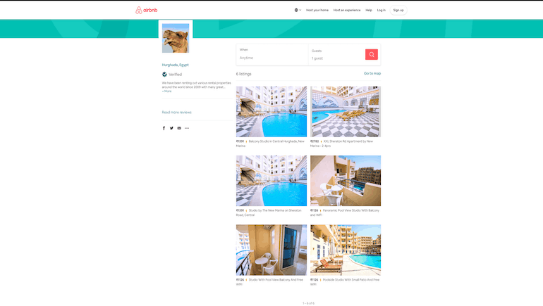 2020 Spring Discounts on Airbnb - Book Holiday Rentals in Hurghada Online - www.apartmentsinhurghada.com