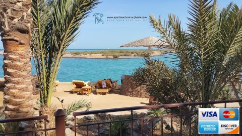 Book Our Holiday Rentals in Hurghada Online - Now Accepting All Major Credit Cards - www.apartmentsinhurghada.com