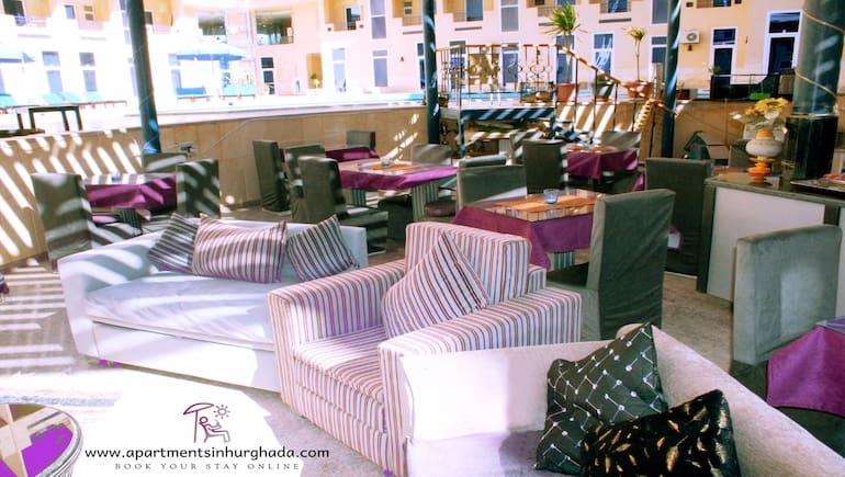 Coziness at Tiba Resort in Hurghada - Book Your Stay Online - Vacation Rentals in Hurghada - www.apartmentsinhurghada.com