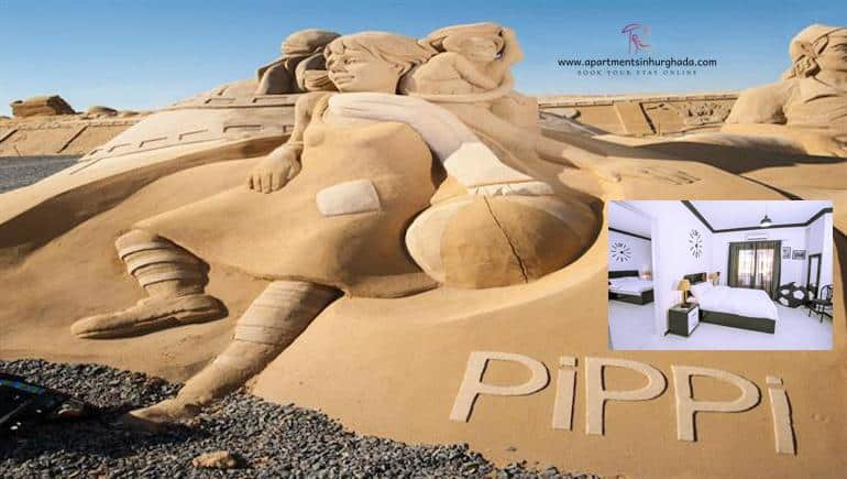 Visit Sand City in Hurghada When You Book Our Holiday Rentals in Hurghada Online - www.apartmentsinhurghada.com