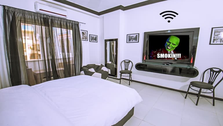 Fast WIFI in Our Vacation Rentals in Hurghada at Sheraton Plaza - Book Online on ww.apartmentsinhurghada.com