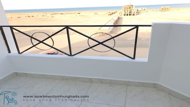Sunset at Tiba View T89 - Book Your Sea View Holiday Rental in Hurghada Online - www.apartmentsinhurghada.com