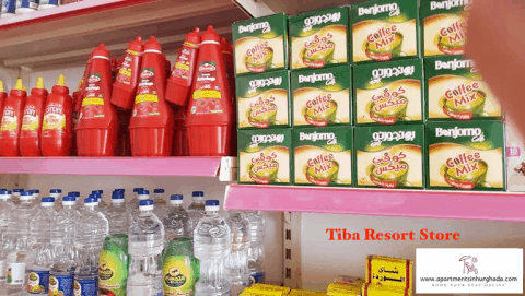 Tiba Resort Store - Book Your Stay @ Tiba Resort Online - www.apartmentsinhurghada.com