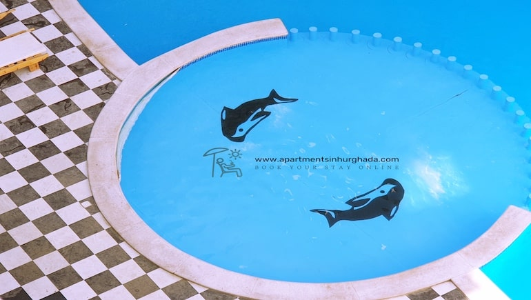 Vacation Rentals in Central Hurghada With A Swimming Pool - Sheraton Plaza - Book Online - www.apartmentsinhurghada.com