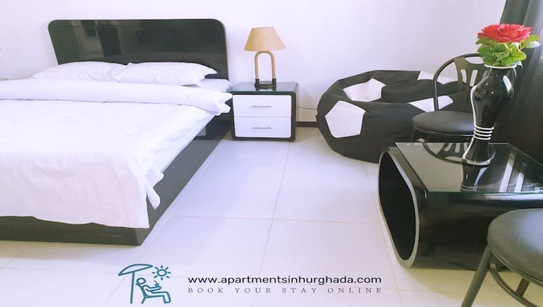 Sparkling White Holiday Rentals in Hurghada