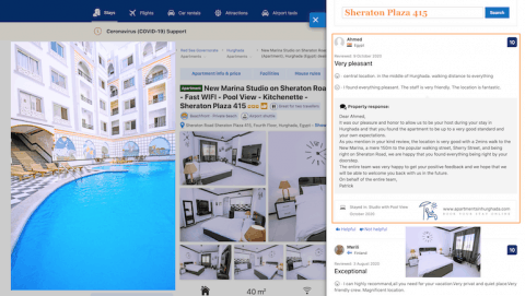 Book A Stay In A Fantastic Location in Hurghada Online - Great Reviews - Sheraton Plaza 415 - Book Online - www.apartmentsinhurghada.com
