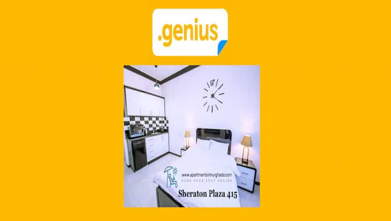 Genius Discount For Sheraton Plaza 415 - Holiday Rentals in Central Hurghada by The New Marina - www.apartmentsinhurghada.com