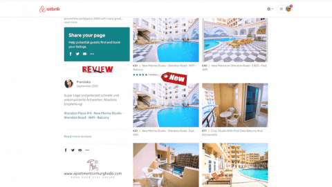 Short Term Holiday Rentals in Hurghada - Book on www.apartmentsinhurghada.com