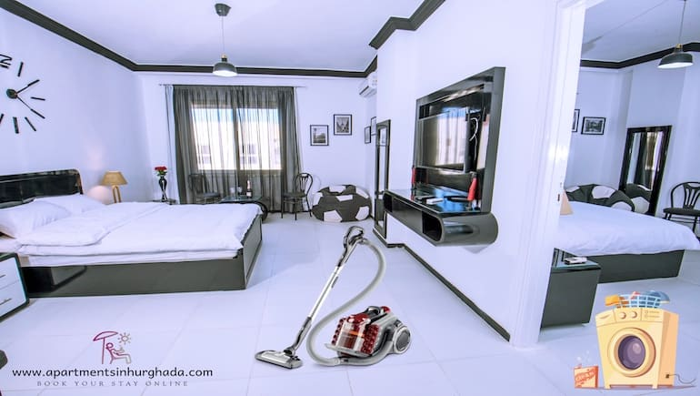 Cleaner Holiday Rentals in Hurghada - Book Your Stay Online - www.apartmentsinhurghada.com -