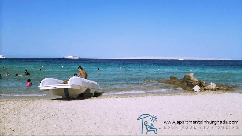 Short Term Rental Apartments by El Sakia Beach in Hurghada at Sheraton Plaza - Book on www.apartmentsinhurghada.com