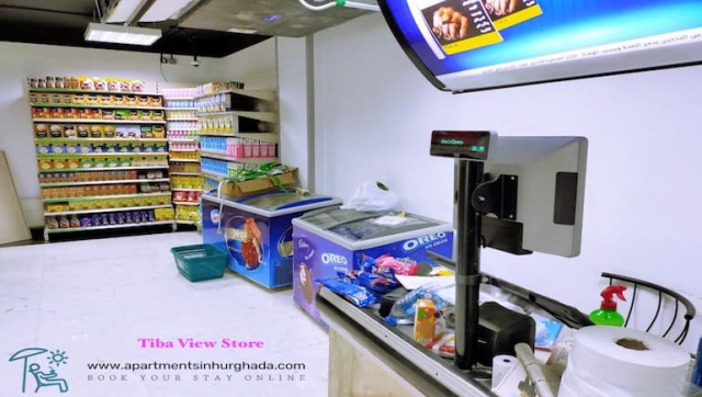 Tiba View Store - Book A Short-Term Holiday Rental Online at Tiba View and in Hurghada - www.apartmentsinhurghada.com -