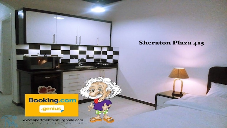 2021 Genius Discounts on Booking.com - Sheraton Plaza 415 - Holiday Rentals Online on www.apartmentsinhurghada.com