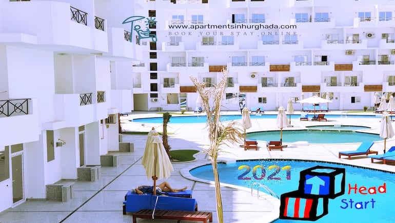 Our Holiday Rentals in Hurghada Are Getting A Head Start For 2021 -