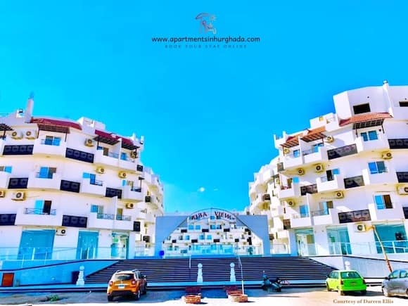 The Blue Sky Over Tiba View in Hurghada - Book Your Stay @ Tiba View T89 Online - Holiday Rentals in Hurghada - www.apartmentsinhurghada.com