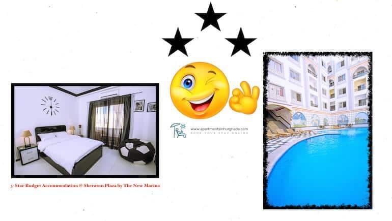 Award Winning and Star Rated Accommodation in Hurghada - Book Sheraton Plaza Online - www.apartmentsinhurghada.com -