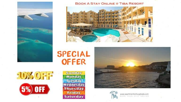 Vacation Rentals in Hurghada - Tiba Resort - Book Online With Weekly and Monthly Discounts - www.apartmentsinhurghada.com -