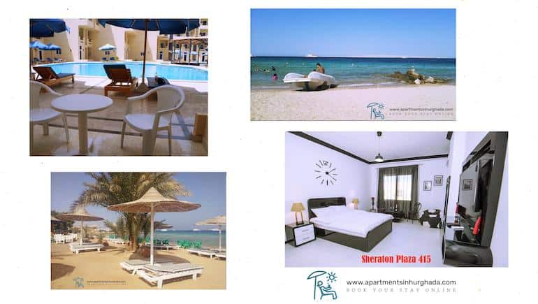 Holiday Rentals in Hurghada With A Great Quality Contra The Price Ratio - Sheraton Plaza 415 - Book Online - www.apartmentsinhurghada.com - -